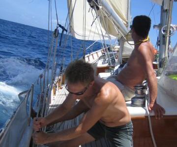 Sejlads St. Vincent til St. Lucia