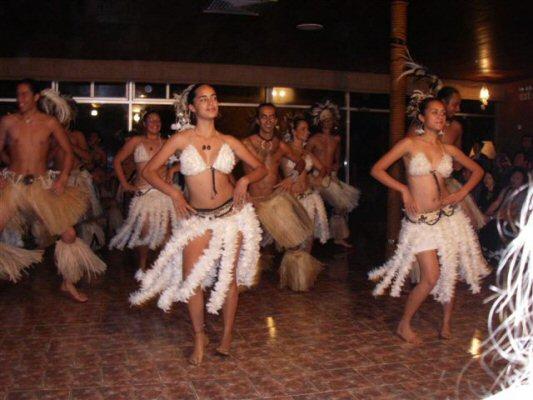 polynesisk show
