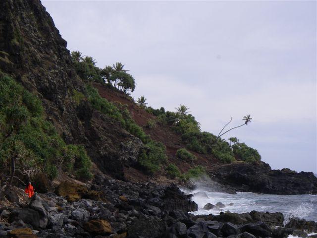 Pitcairns stejle skrænter