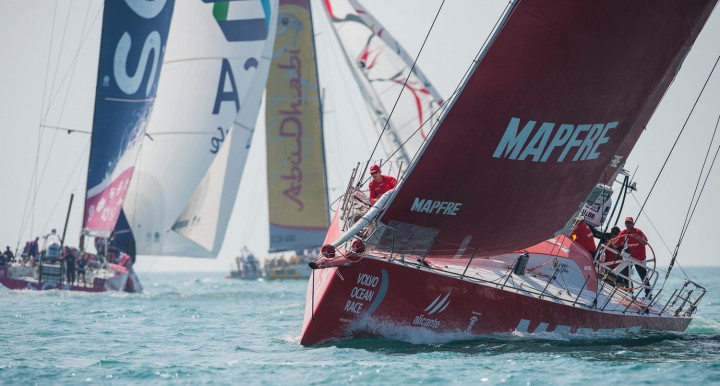 Team Vestas Wind In-Port Race: MAPFRE